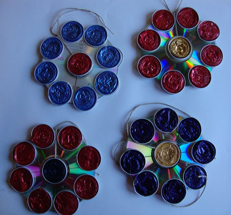 Cd s knutselen crafts with old cd s capsulas nespresso pinterest