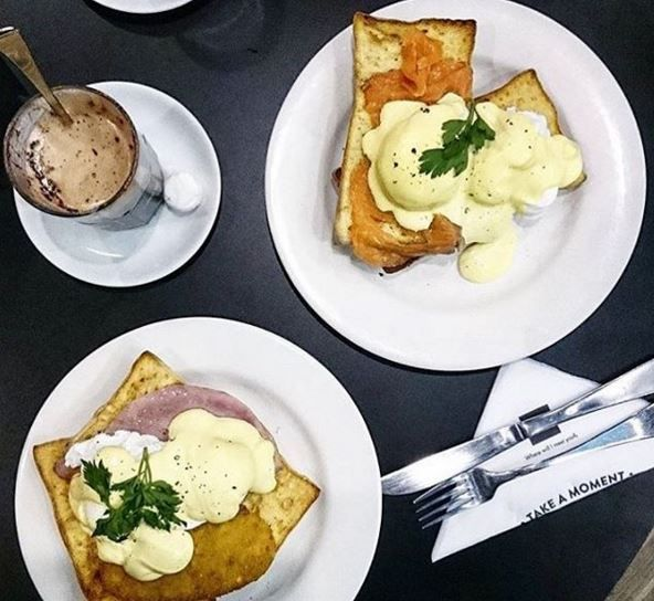 You can never go wrong with all day breakfast at The Coffee Club.
