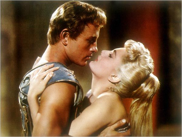 #Fifties | Jacques Sernas and Rosanna Podestà in Helen of Troy, 1956