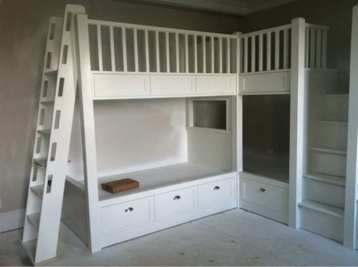 1000 Images About Bunk Beds On Pinterest Built In Bunks