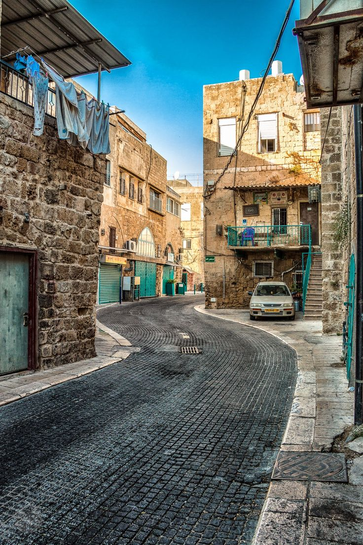 Acre. Israel...the only time I freaked out in this country.  There was this store I wanted to return for some jewelry...My friend waited by his car...which I found the store but somehow I got turned around when going back.