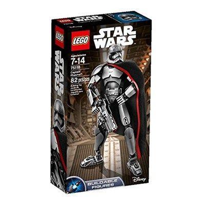 Chollo en Amazon España: Figura LEGO Star Wars Capitana Phasma por solo 9,99€ (un 63% de descuento sobre el precio de venta recomendado y precio mínimo histórico)