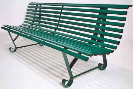 Banc jardin tout métal - Code produit: 7638221 - Cliquez sur la photo pour voir la fiche produit