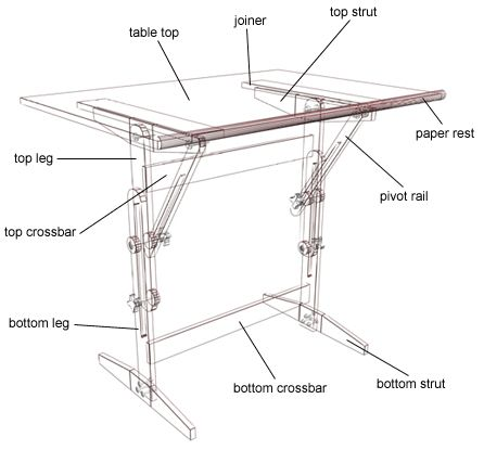 wooden drafting tables - Google Search                                                                                                                                                                                 Más
