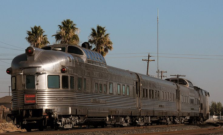 California Zephyr 60th Anniversary Special, from rear - California Zephyr - Wikipedia
