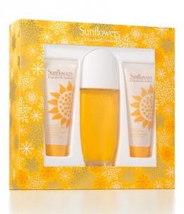 Elizabeth Arden Sunflowers Eau De Toilette Gift This great value Elizabeth Arden Sunflowers Eau De Toilette Gift Set is worth over £46.00 and contains: - Elizabeth Arden Sunflowers Eau De Toilette Spray 100ml - Elizabeth Arden Sunflowers Perfumed B http://www.comparestoreprices.co.uk/perfumes/elizabeth-arden-sunflowers-eau-de-toilette-gift.asp