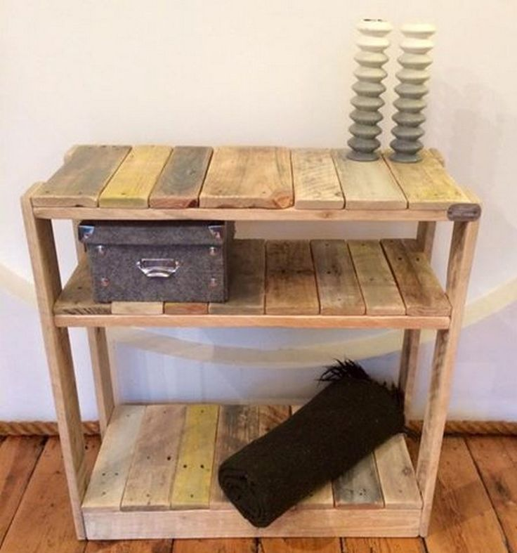 30 best pallet end tables images on pinterest side for End tables made from pallets