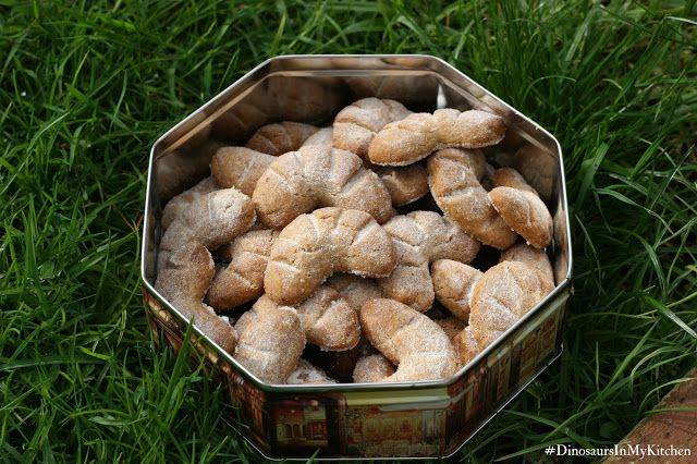 Hazelnut moon crescents - a French classic sable biscuit! So yum!