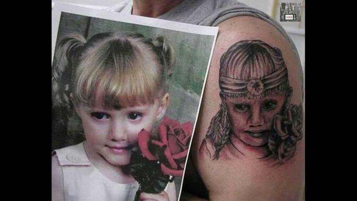 World's Worst Tattoos / Portrait Tattoos Ever!   New - YouTube