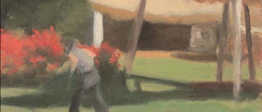 DETAIL ::Clarice BECKETT:: Hawthorn Tea Gardens :: c.1933, Melbourne :: Gift of Sir Edward Hayward 1980