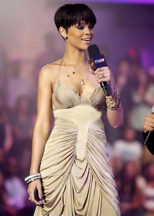 6.Rihanna Pixie Haircut
