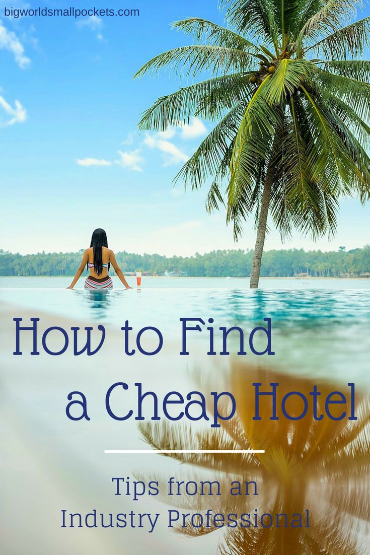 Being able to find a cheap hotel is really a case of knowing how to navigate the accommodation system, so here are my insider hotel ideas when it comes to grabbing yourself a bargain {Big World Small Pockets}