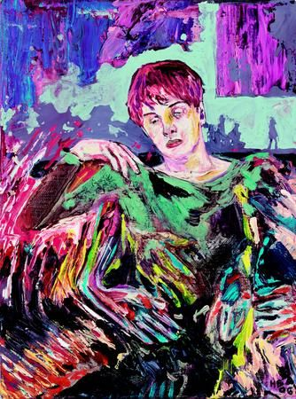 Hernan Bas at the Brooklyn Museum - Kung Fu Art Critic. Color as emotion &…