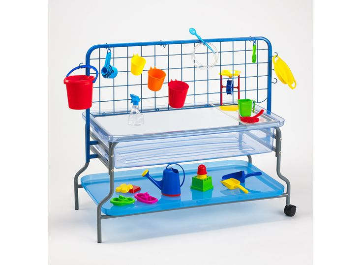 Super Water Tray Set includes everything in the picture #edxeducation #learnbyhplay #grossmotorskills #finemotorskills #handson #learningisfun