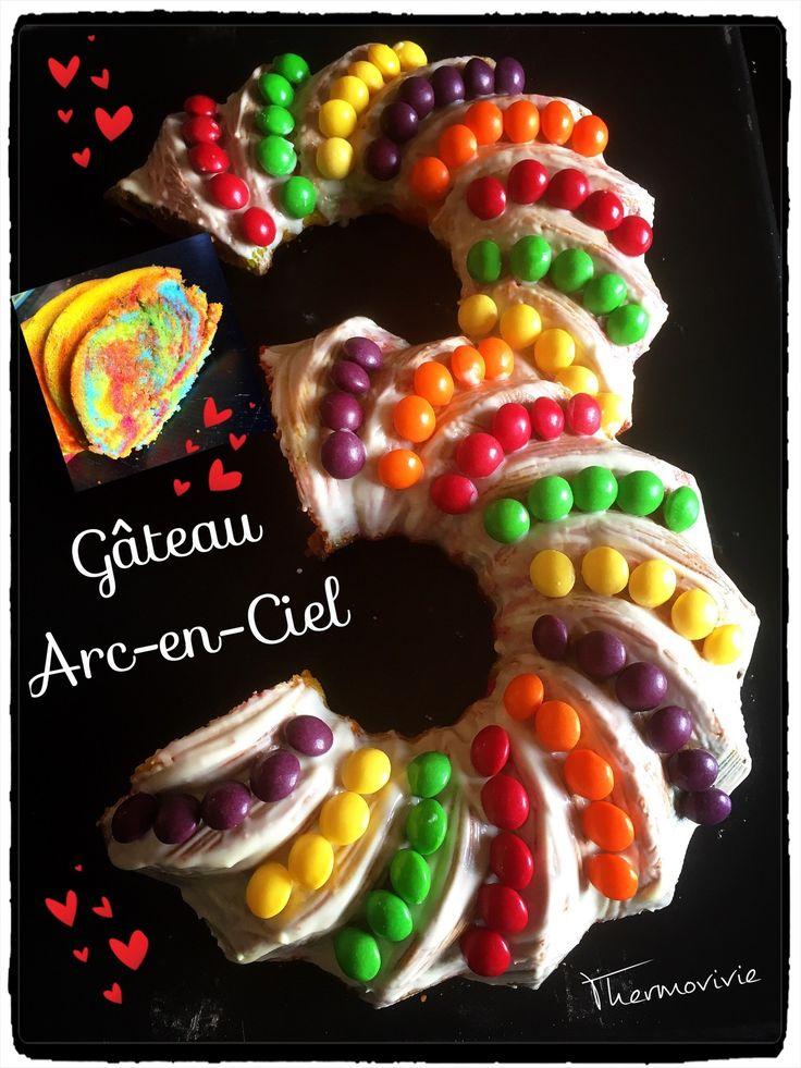 Pour l'anniversaire de notre petite princesse Téa, l'idée était de lui réaliser un gâteau aussi coloré que l'arc en ciel des petits poneys.. (Rainbow Dash pour les initiés petits poneys..) Et pour marquer le coup de ses 3 ans, j'ai tenté de réaliser un...