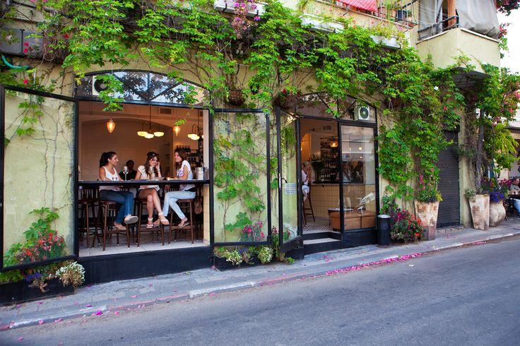 Where To Eat in Tel Aviv's Neve Tzedek Neighborhood | @saltandwind