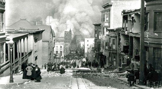 Il grande incendio e terremoto di San Francisco del 1906