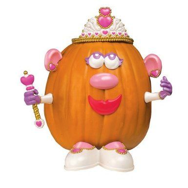 mrs potato head princess pumpkin decorating kit and others!! This would be great for Tay