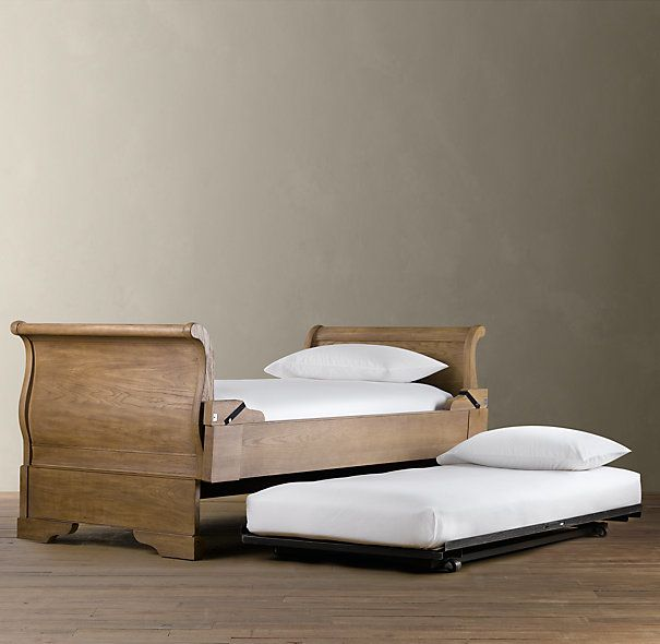 Marston Daybed With Pop Up Trundle Dry Oak Baby Stuff