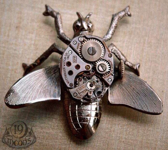 Steampunk - Mechanical Insect