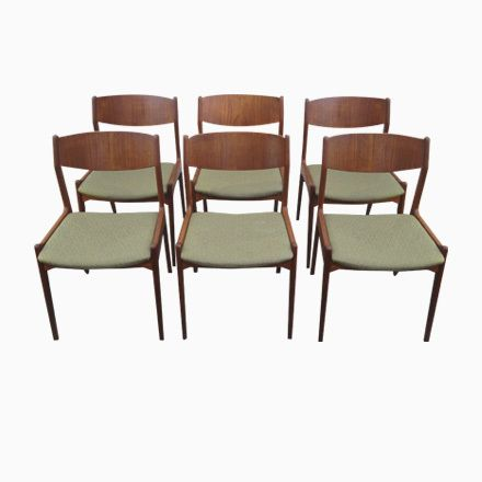 Salbeigrüne Dänische Mid Century Teak Esszimmerstühle, 1960er, 6er Set  Jetzt Bestellen Unter: Https://moebel.ladendirekt.de/kueche Und Esszimmer/stuehle Und  ...