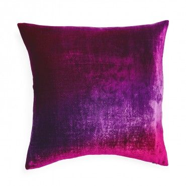 Kevin O'Brien Ombre Gradient Velvet Pillow
