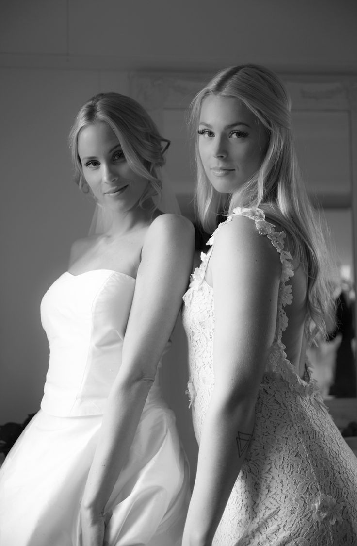 Brud og forlover, Nina Thorsø Couture. I den Lille Frisørsalong