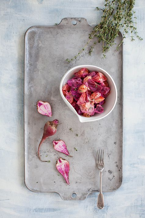 Shay Cochrane / Surfside Food and Photography Workshop | Day 1 Beet Salad, Food Photography