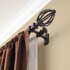 Better Homes and Gardens Cage Double Rod Set, Venetian Black