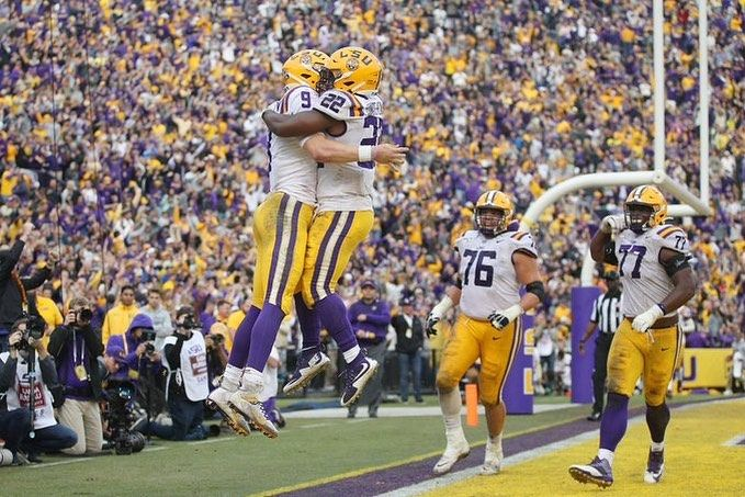 Lsu Football News On Instagram New Ap Poll Rankings Are Out And Lsu Is The New No 1 Team In The Country This Is The F With Images Lsu Tigers Football