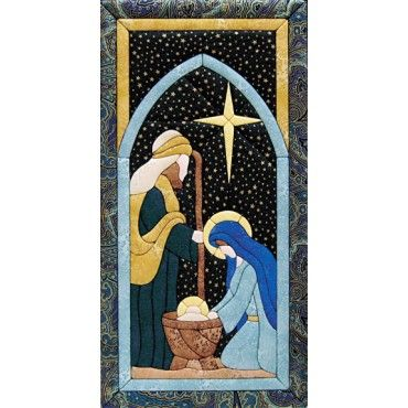 Mary Maxim - Nativity Scene Quilt Magic Kit