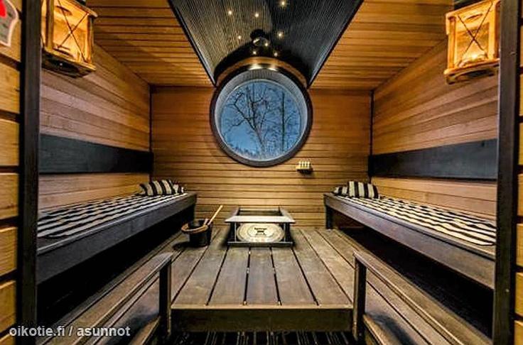 A perfect sauna