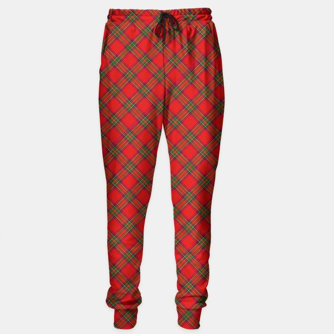 * Red Tartan Plaid Pattern Sweatpants by #Gravityx9 at # ...