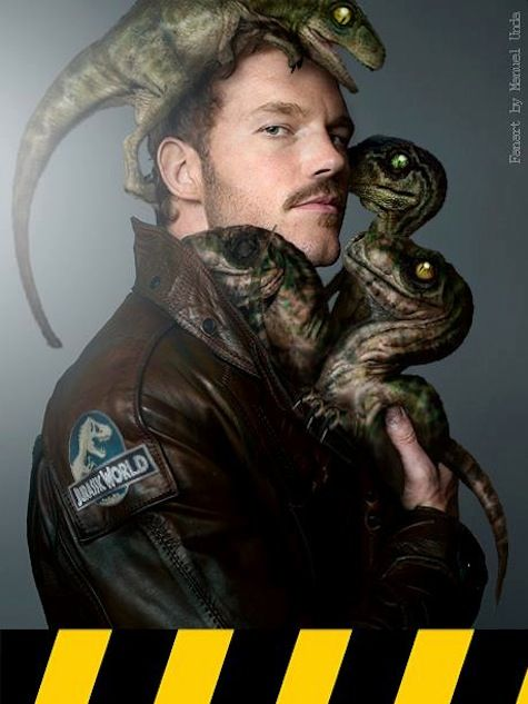 "I mean, Chris Pratt plays a raptor tamer. It's like Universal had the meeting were Jurassic World was pitched, and they said ""So just how sexy can we make him?"" ""The most sexy."""