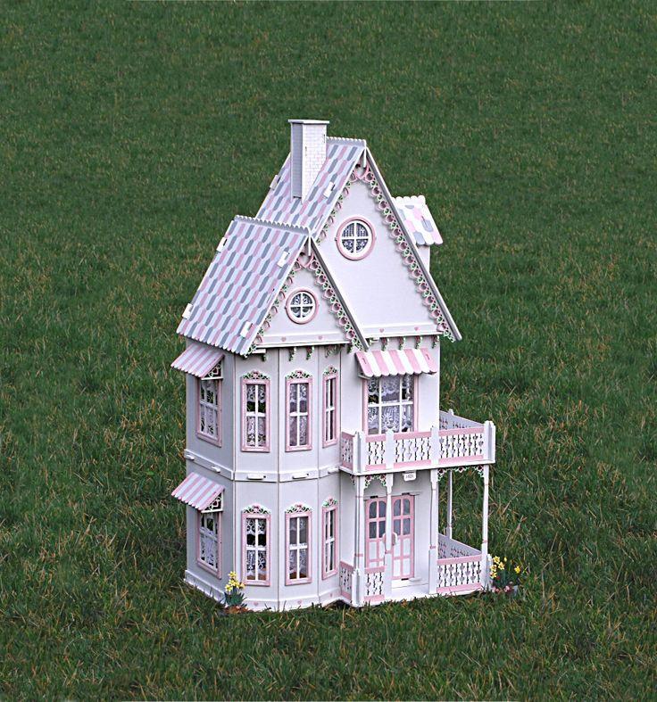 Best 25 dollhouse kits ideas on pinterest doll houses for Victorian kit homes
