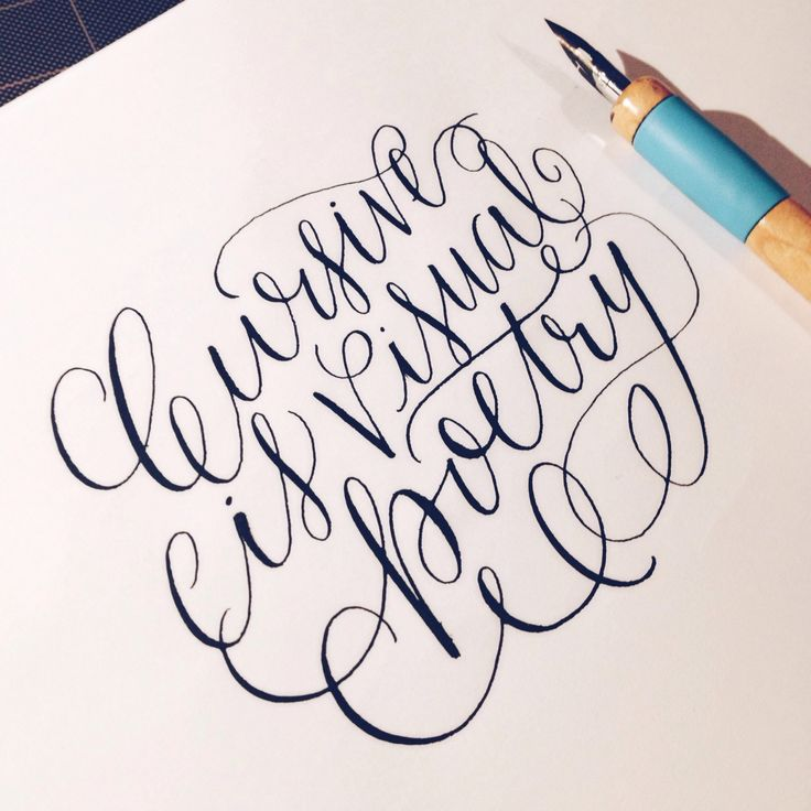Best ideas about copperplate calligraphy on pinterest