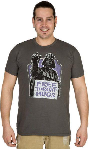 Throat Hugs Darth Vader Shirt