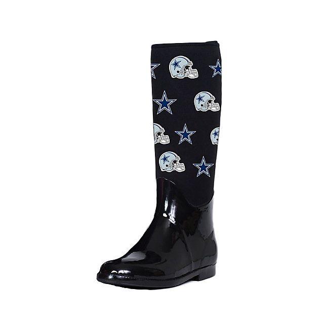Dallas Cowboys Cuce Enthusiast II Rain Boot