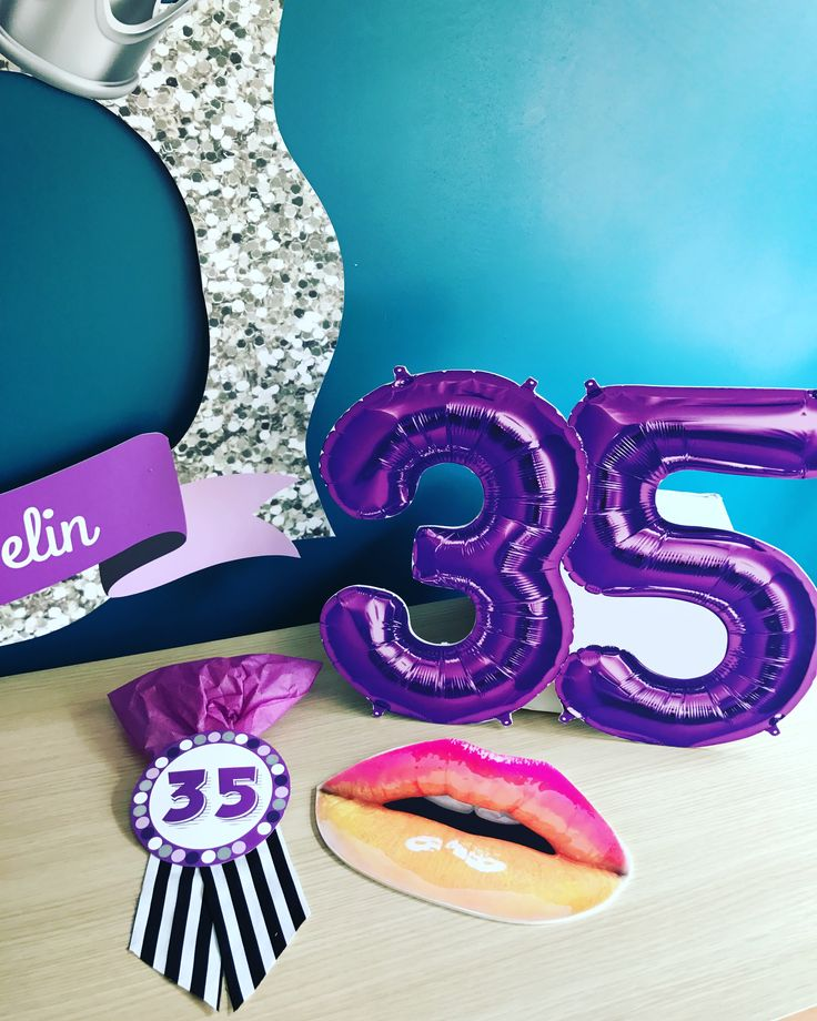 35 yaş parti malzemeleri, 35 yaş parti çerçevesi