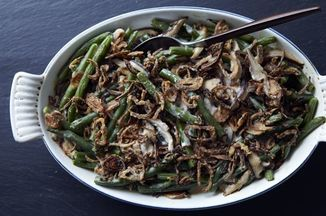 Homemade Green Bean Casserole Recipe on Food52, a recipe on Food52