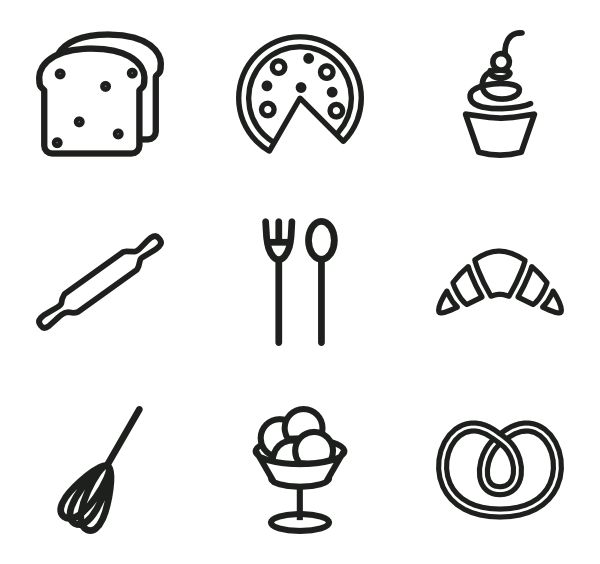 Cupcake Icons - 357 free vector icons
