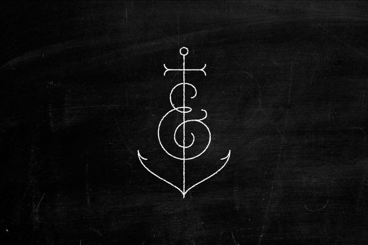 Would be a really cool tattoo... But instead of an anpersand, a treble clef on the anchor :)
