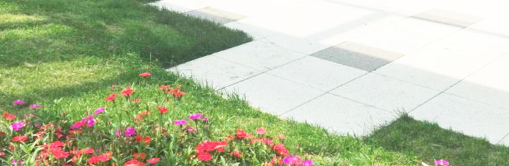 With #Permeable #Pavers, you can include more paved surfaces in your designs, while caring for the environment. It really is #environmentally #friendly #design, especially for #urban #gardens.
