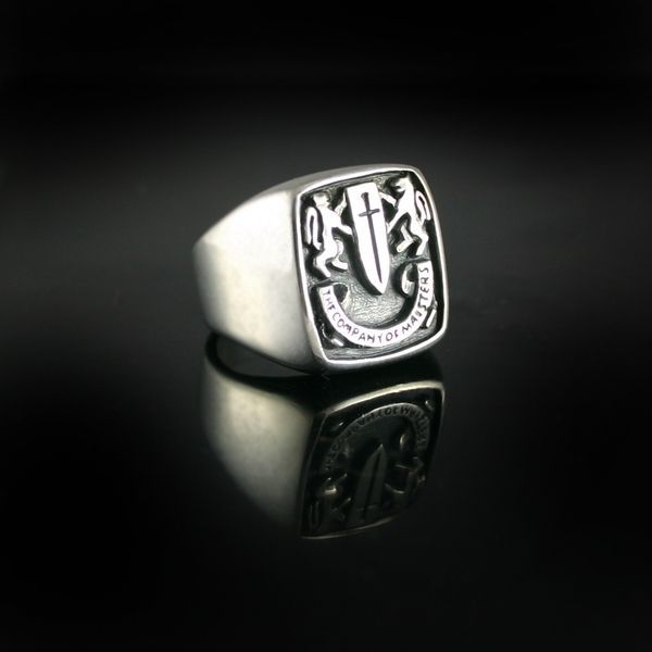Custom Made Custom Mens Signet Ring