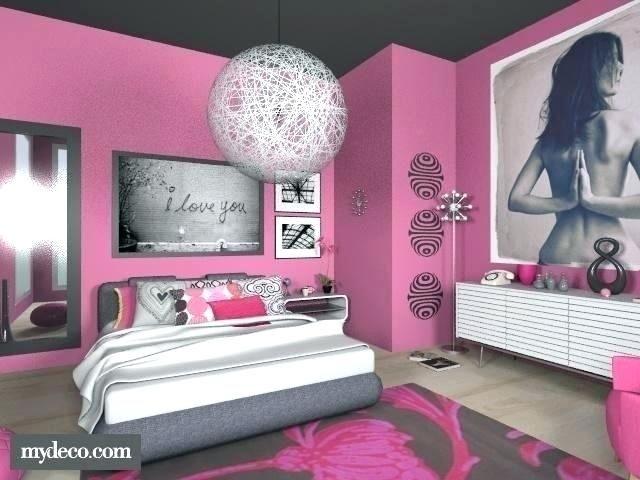 Pink And Black Bedroom Decor Pink Room Decor Hot Pink Bedrooms Black Bedroom Decor