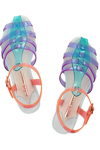 Would You Wear This Childhood Classic Now? #refinery29  http://www.refinery29.com/jelly-shoes#slide12