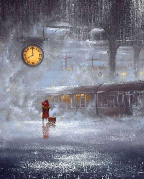 "*Painting - ""As Time Goes By"" by Jeff Rowland"