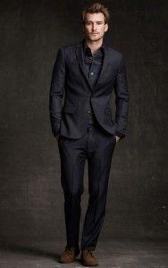 Black Suit For Wedding