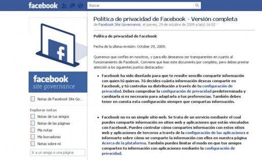 Facebook transparentará la recopilación de datos