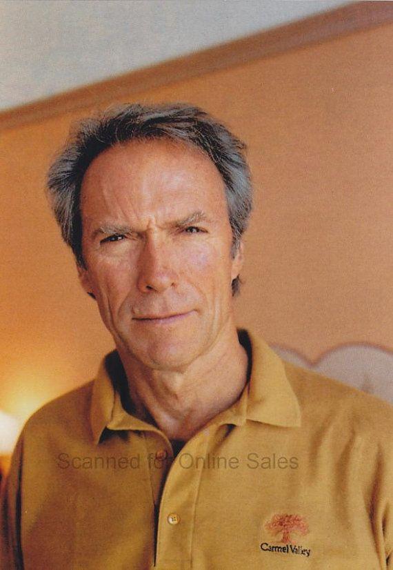 Clint Eastwood Relaxing in Carmel 4x6 Photo